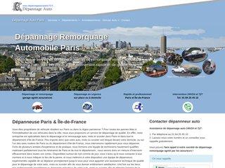 Entreprise de dépannage automobile à Paris
