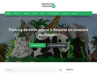 Le guide d'informations sur le zoo de Beauval