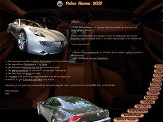 Une plateforme dédiée au Fisker Karma 2012 !