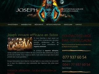Le maraboutisme du professeur Joseph