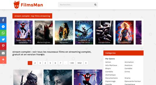 Voir des films en streaming