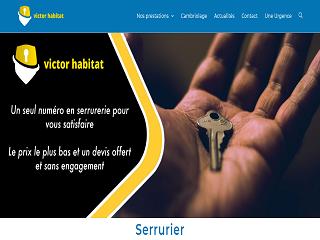 Service de serrurerie fiable avec Victor Habitat