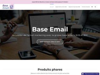 Choisir la bonne base e-mail