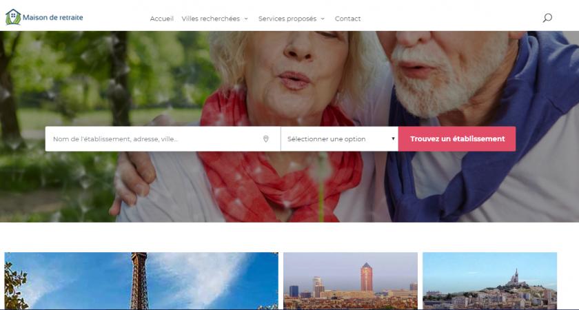 Site internet pour localiser rapidement un établissement pour les personnes âgées en France
