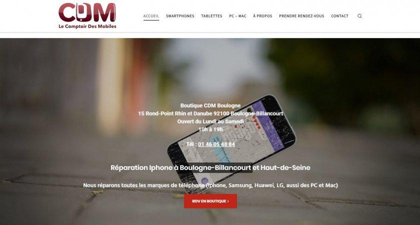 Réparateur iPhone Boulogne-Billancourt