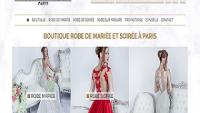 Boutique de robe de mariée et robe de soirée à Paris