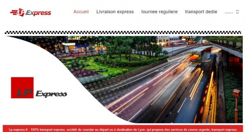 Service de transport express à Lyon