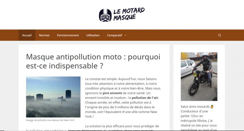 Tout ce qu'il convient de connaître sur le masque antipollution