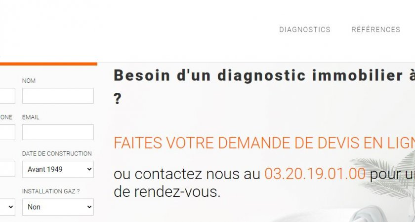Diagnostic immobilier à Lille