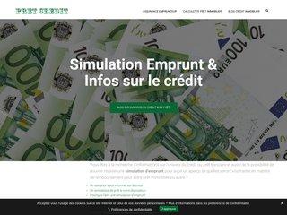 PRET-CREDIT, simulateur de crédit immobilier